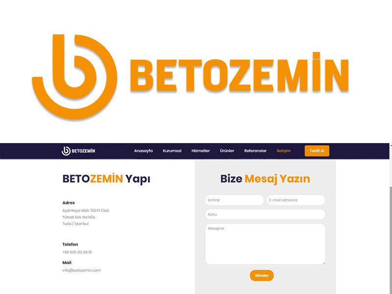 Beto Zemin Web Sitesi