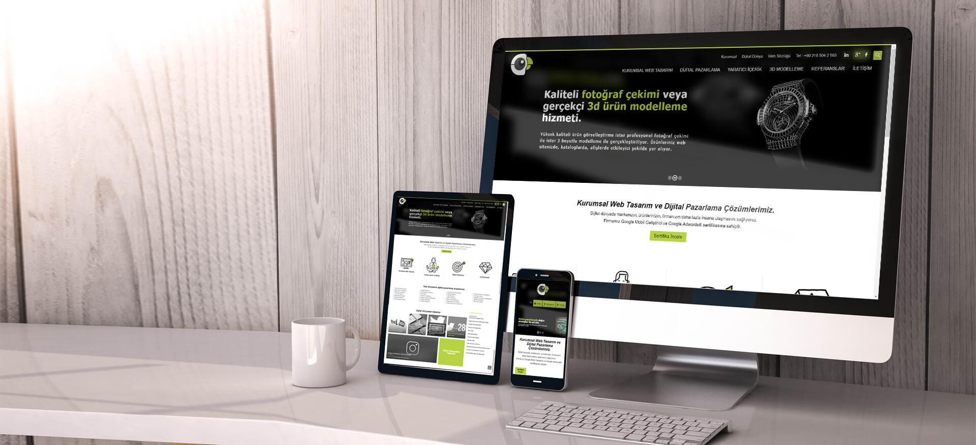 Profesyonel Web Tasarım